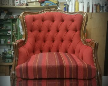 Polsterei - Sessel mit Heftung