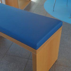 Polsterei - Neue Sitzbänke für das Walchenseekraftwerk