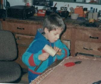 Im zarten Alter von 6 Jahren