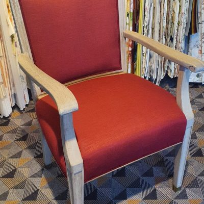 der fertige Stuhl